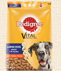 Pedigree large dog adult dry food