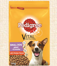 Pedigree small dog adult dry food