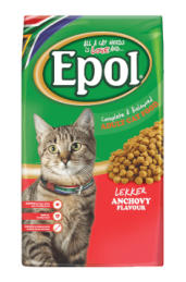 Epol cat food - anchovy flavour